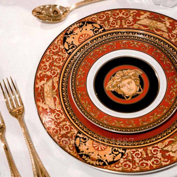 versace wall plate medusa