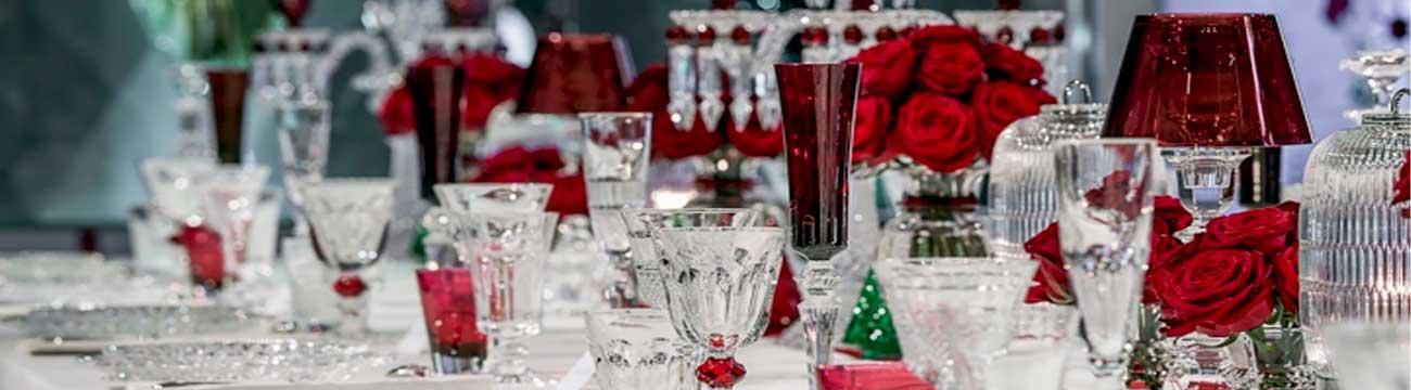 baccarat christmas tableware