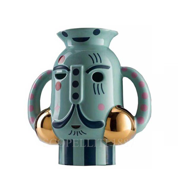 bosa king vase vintage green baile collection