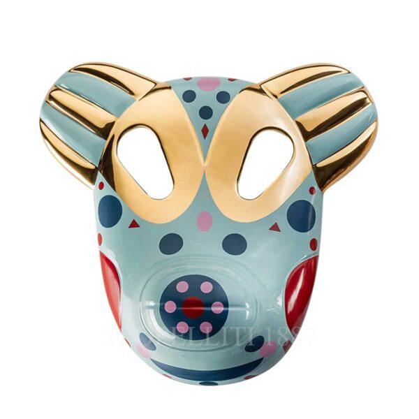 bosa maskhayon baile collection bear mask vintage green