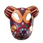 bosa maskhayon baile collection bear mask red