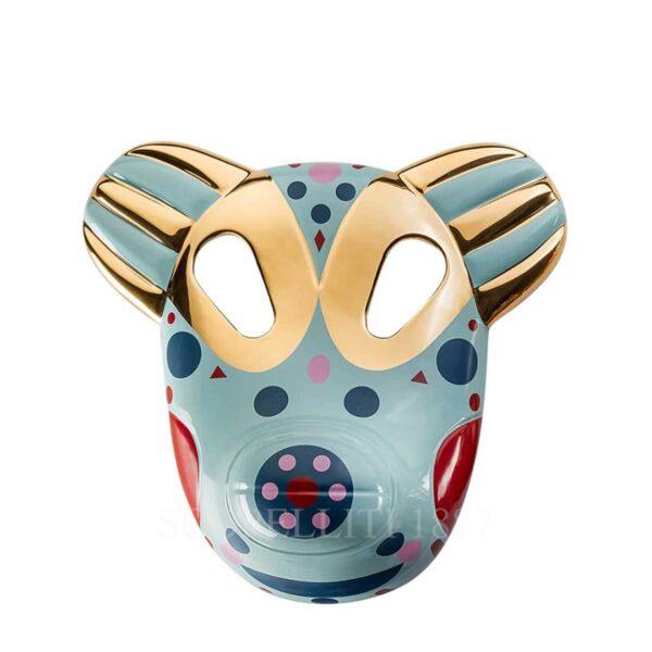 bosa maskhayon baile collection bear mask vintage green small