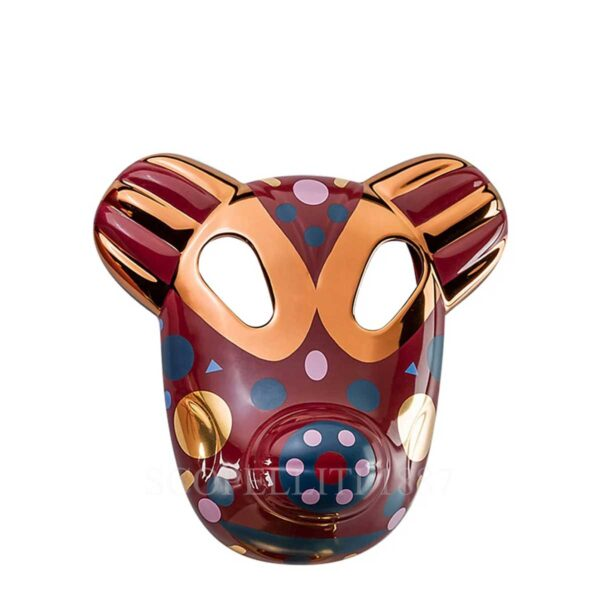 bosa maskhayon baile collection bear mask red small