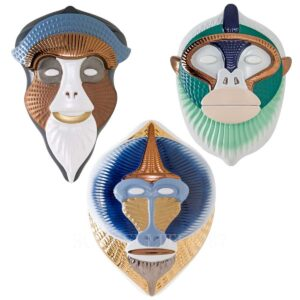 bosa set of 3 primates masks