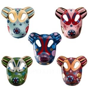 bosa set of 5 bear big masks baile collection