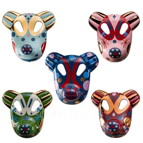 bosa set of 5 bear big masks baile collection