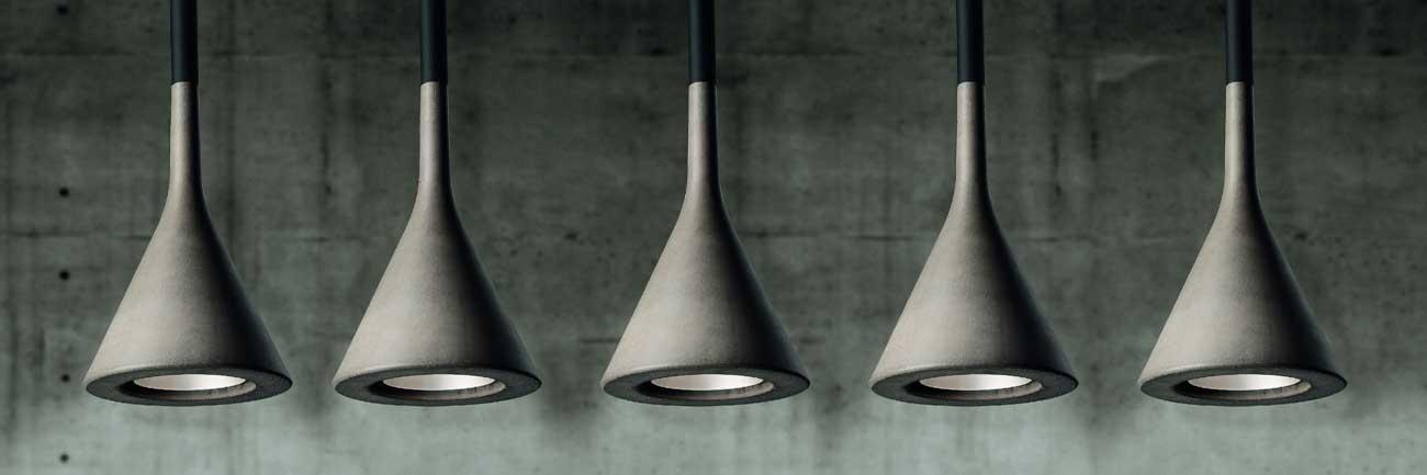 design lamps aplomb foscarini