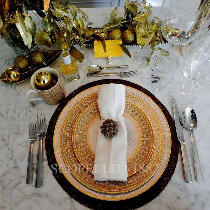 hermes mosaique au 24 christmas tableware