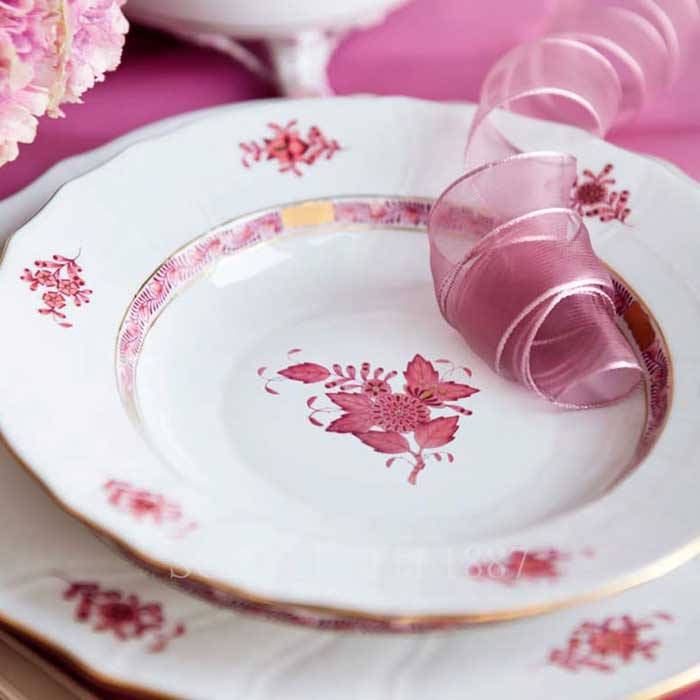 herend apponyi pink