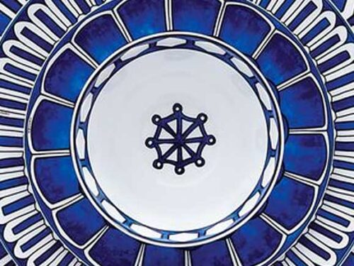Porcelain Plates: an Antique and Refined Work of Art