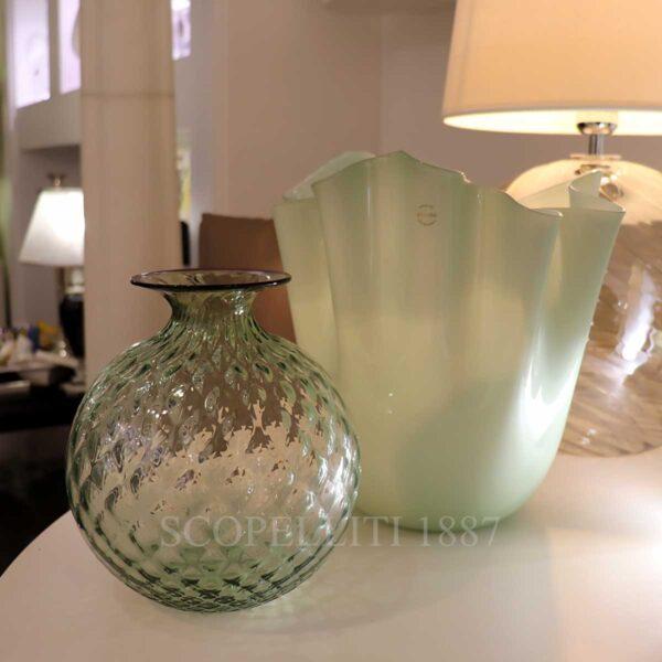 venini vases new rio green colour