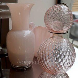 venini vases new powder pink