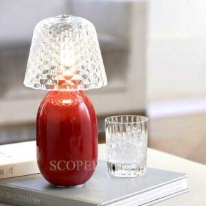 baccarat baby candy light nomadic lamp red