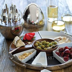christofle party tray