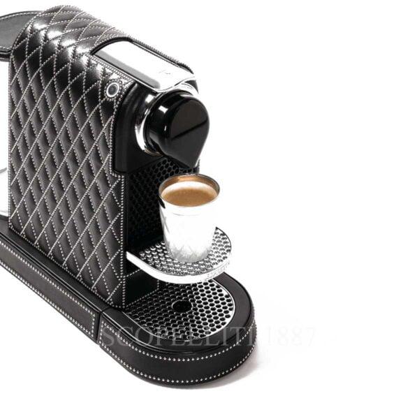 citiz decor lux diamonds coffee machine leather pigment france