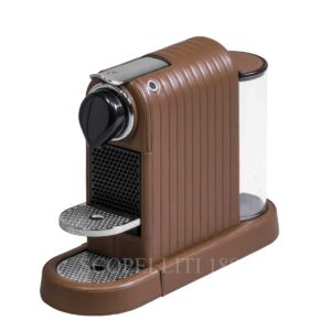 citiz lines coffee machine leather pigment france