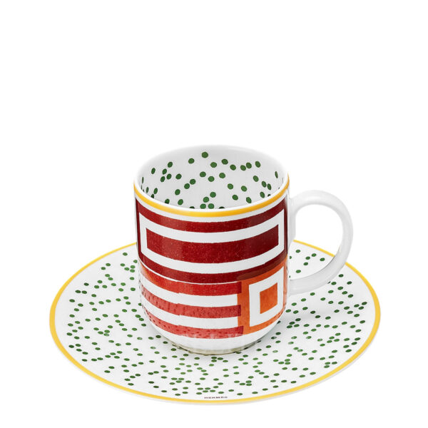 hermes hippomobile coffee cup and saucer n.1