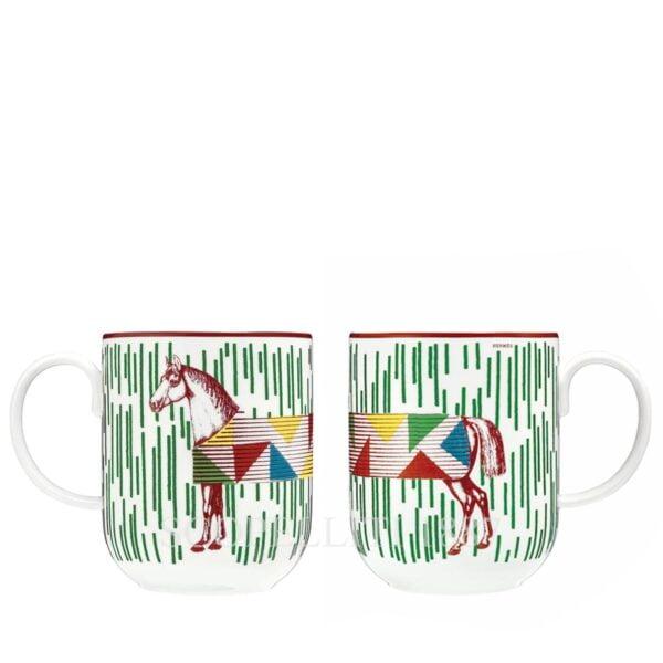 hermes hippomobile green mug