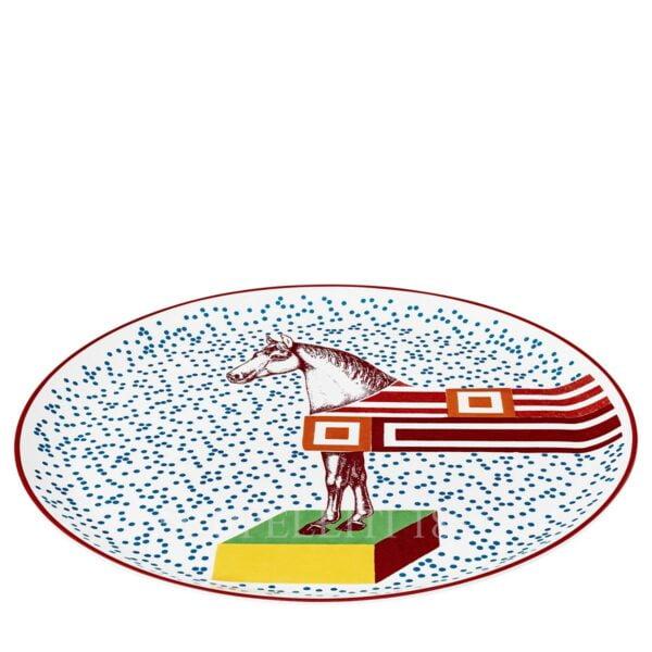 hermes hippomobile tart platter