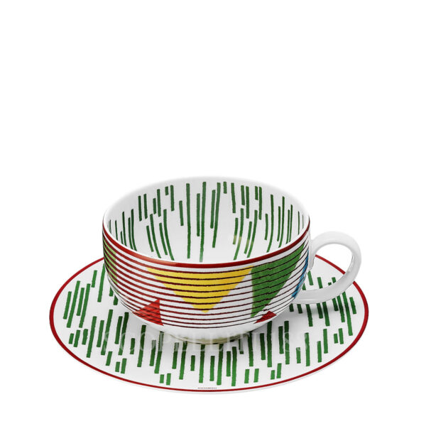 hermes hippomobile tea cup and saucer n.2