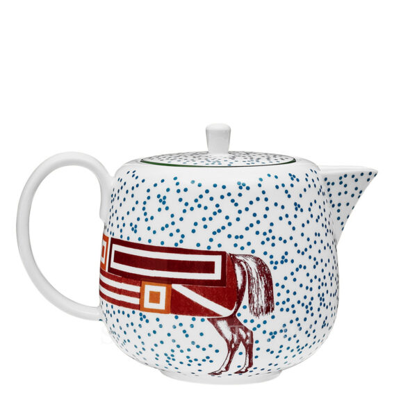 hermes hippomobile teapot