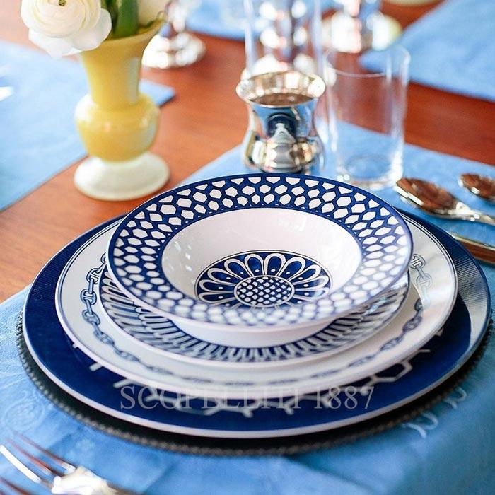 hermes tableware on luxury yachts