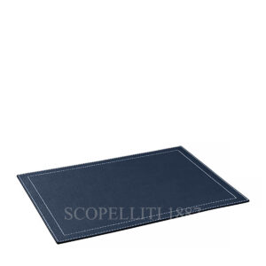leather square place mat giobagnara