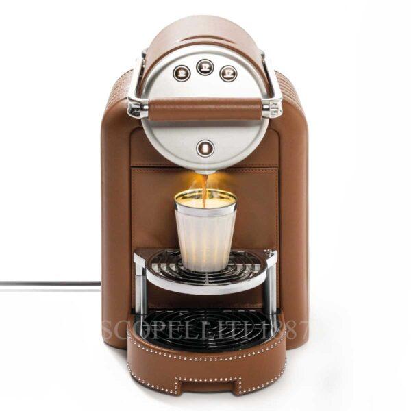 zenius decor lux coffee machine leather pigment france