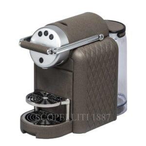 zenius diamonds coffee machine leather pigment france