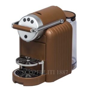 zenius lines coffee machine leather pigment france