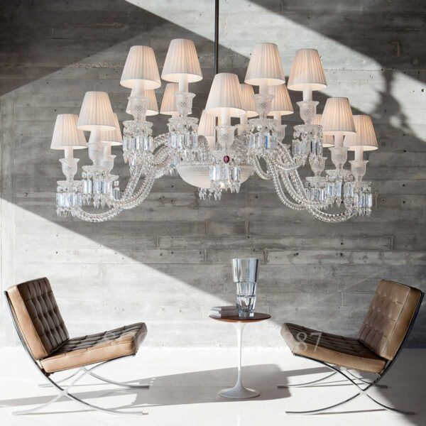 baccarat ellipse chandelier