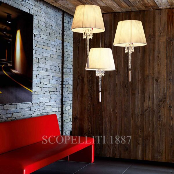 baccarat torch ceiling lamp white