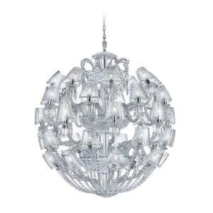 baccarat le roi de soleil chandelier 40 lights