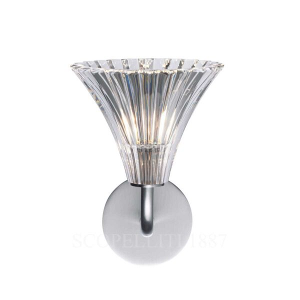 baccarat mille nuit wall sconce tulip