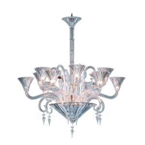 baccarat mille nuits chandelier 12 lights