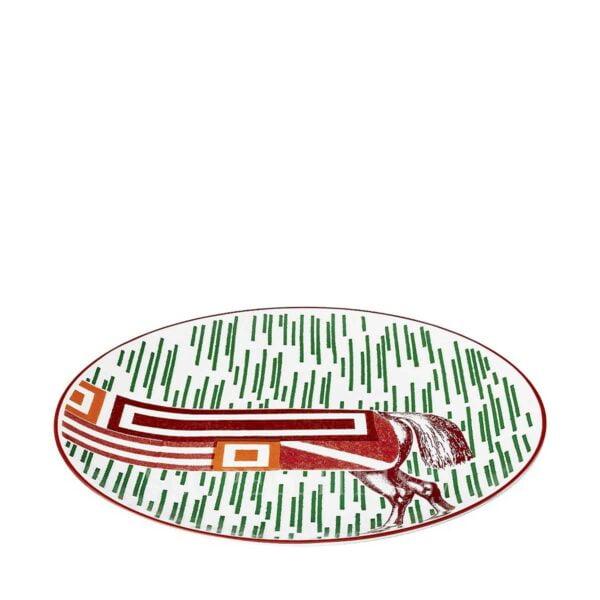 hermes hippomobile dessert plate n.3