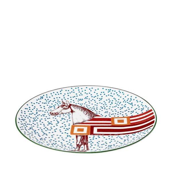 hermes hippomobile dessert plate n.1