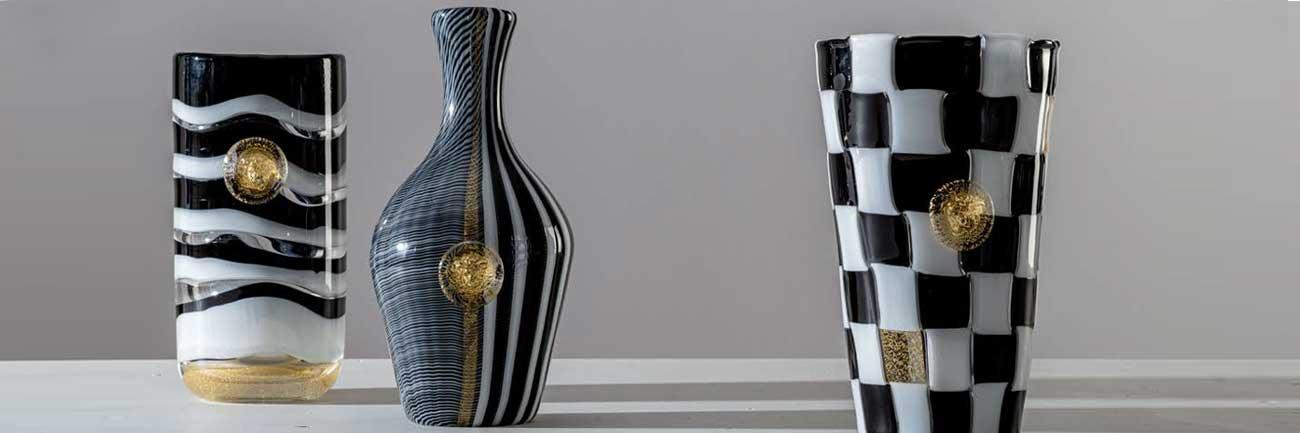 venini versace vases