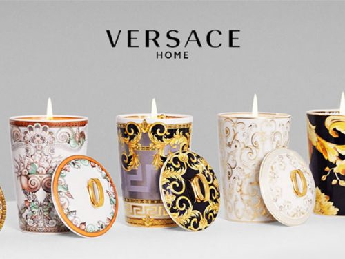 Versace Candles and Candleholders – an elegant finishing touch
