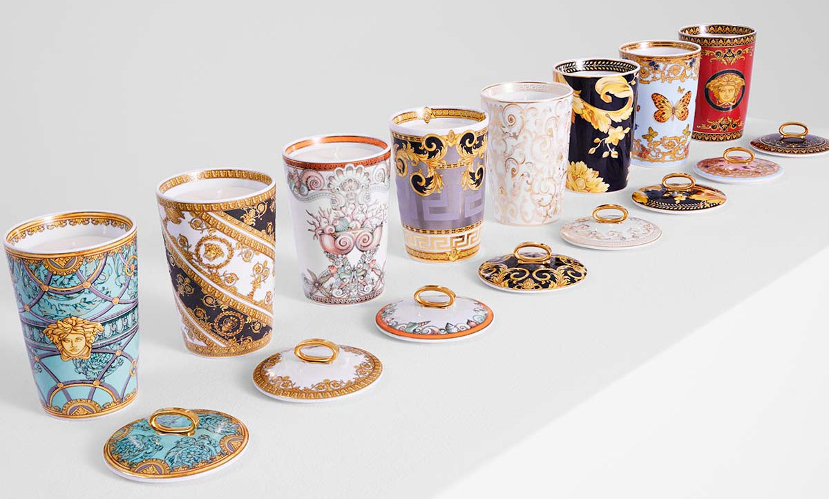 versace candles
