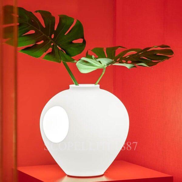 foscarini vase lamp white madre