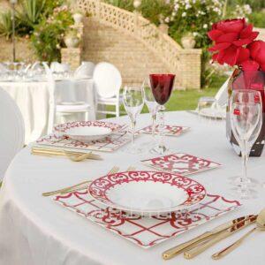 hermes balcon du quadalquivir table setting