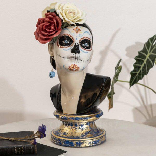 lladro beutiful catrina figurine