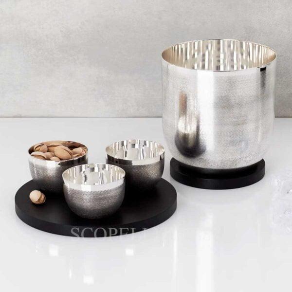 puiforcat jacaranda ice bucket and bowls