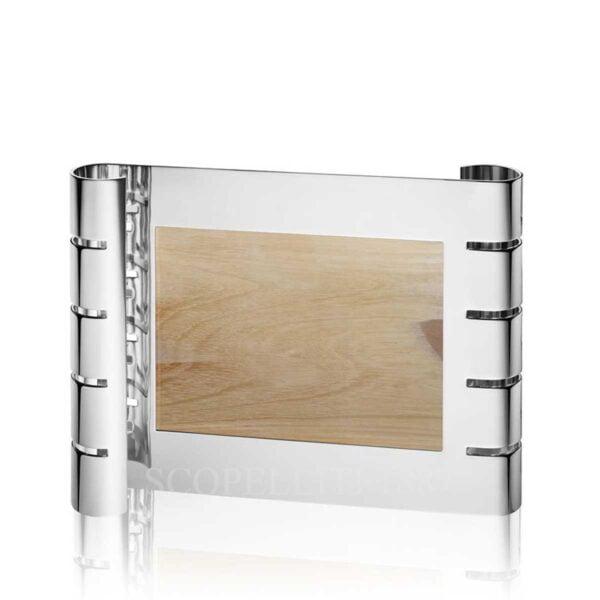 puiforcat ruban photo frame horizontal