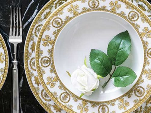 VERSACE Tableware – Jewel Placer on Your Table
