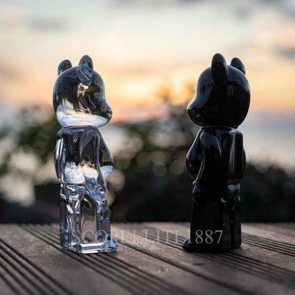 baccarat bearbrick figurines set