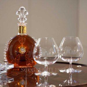 baccarat degustation set of 2 cognac glasses