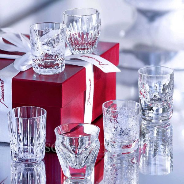 baccarat everyday les minis set in crystal
