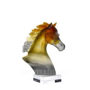 daum grey amber arabian horses head